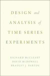 Design and Analysis of Time Series Experiments (e-bok)