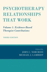 Psychotherapy Relationships that Work (e-bok)
