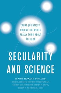Secularity and Science (e-bok)