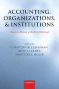 Accounting, Organizations, and Institutions (e-bok)