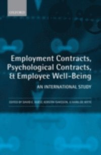 Employment Contracts, Psychological Contracts, and Employee Well-Being (e-bok)