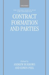 Contract Formation and Parties (e-bok)