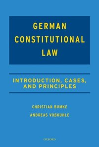 German Constitutional Law (e-bok)