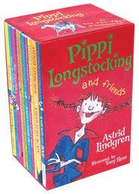 Pippi And Friends Ten Books Box Set (inbunden)