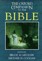 The Oxford Companion to the Bible (inbunden)