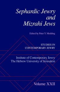 Sephardic Jewry and Mizrahi Jews - Peter Y Medding - Bok ...