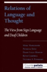 Relations of Language and Thought (e-bok)