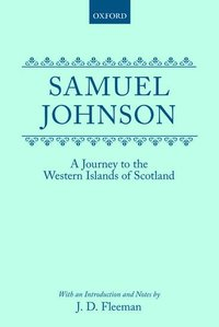 A Journey to the Western Islands of Scotland (1775) (inbunden)