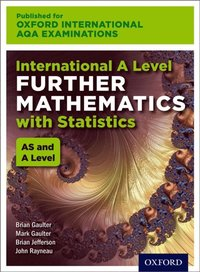 Oxford International AQA Examinations: International A Level Further Mathematics with Statistics (e-bok)