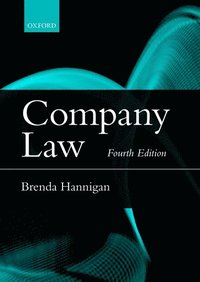Company Law Brenda Hannigan H 228 Ftad 9780198722861 Bokus