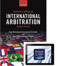 Redfern and Hunter on International Arbitration (paperback and eBook)