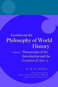 Hegel: Lectures on the Philosophy of World History, Volume I (häftad)