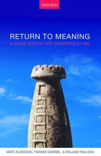 Return to Meaning (inbunden)