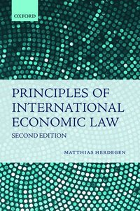 Principles of International Economic Law (häftad)