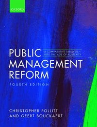 Public Management Reform (inbunden)