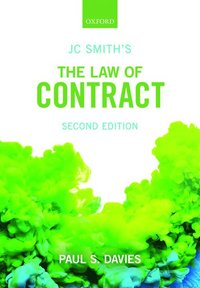 JC Smith's The Law of Contract (häftad)