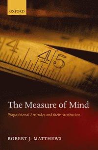 The Measure Of Mind Robert J Matthews Bok