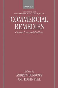 Commercial Remedies (inbunden)