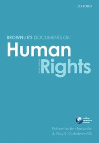 Brownlie's Documents on Human Rights (häftad)