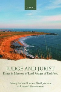 Judge and Jurist (inbunden)