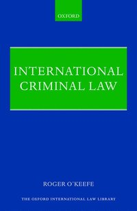 International Criminal Law (inbunden)