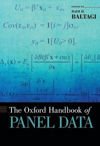 The Oxford Handbook of Panel Data (inbunden)
