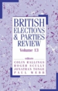 British Elections & Parties Review (e-bok)