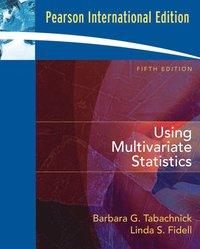 Using Multivariate Statistics av Barbara G Tabachnick (Häftad)