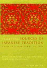 Sources of Japanese Tradition (häftad)