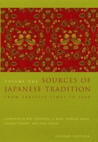 Sources of Japanese Tradition (e-bok)
