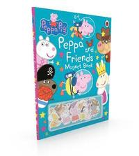Peppa Pig: Peppa and Friends Magnet Book (inbunden)