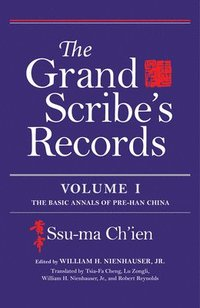 The Grand Scribe's Records, Volume I (inbunden)