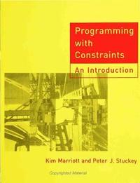 Programming with Constraints (inbunden)
