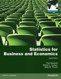 Statistics for Business and Economics: Global Edition (e-bok)