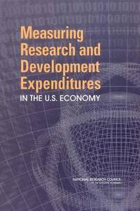 Measuring Research and Development Expenditures in the U.S. Economy (häftad)