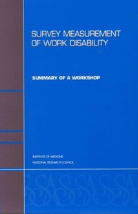 Survey Measurement of Work Disability (e-bok)