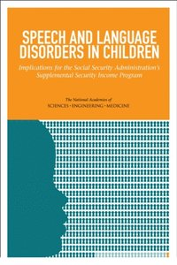 Speech and Language Disorders in Children (e-bok)