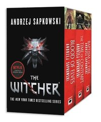 The Witcher Boxed Set: Blood of Elves, the Time of Contempt, Baptism of Fire (häftad)