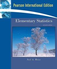 Elementary Statistics av Neil A Weiss (Mixed media product)