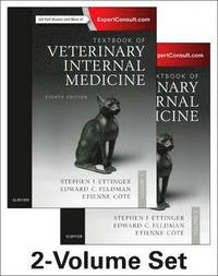 Textbook of Veterinary Internal Medicine Expert Consult (inbunden)