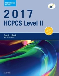 2017 HCPCS Level II Professional Edition - E-Book (e-bok)