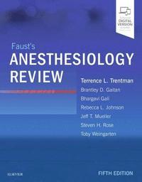 Faust's Anesthesiology Review (Häftad)