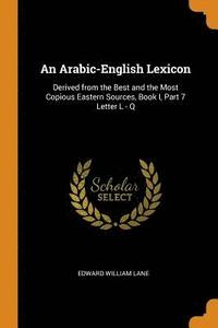 An Arabic-English Lexicon (häftad)