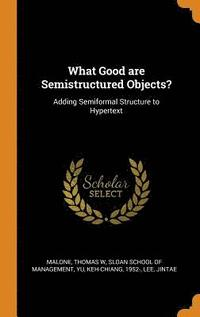 What Good Are Semistructured Objects? (inbunden)