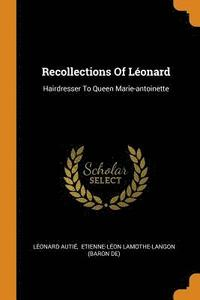 Recollections of L onard (häftad)