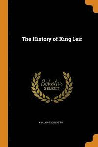 The History of King Leir (häftad)