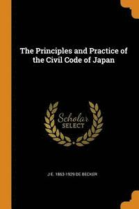 The Principles and Practice of the Civil Code of Japan (häftad)