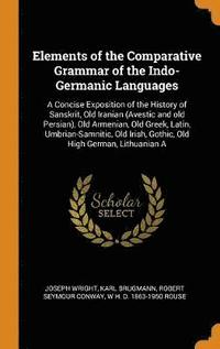 Elements of the Comparative Grammar of the Indo-Germanic Languages (inbunden)