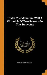 Under the Mountain Wall a Chronicle of Two Seasons in the Stone Age (inbunden)