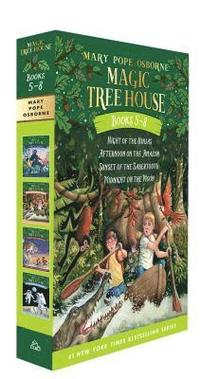 Magic Tree House Books 5-8 Boxed Set (häftad)